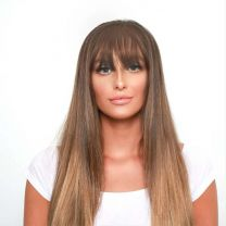 Clip in Bangs / Fringe
