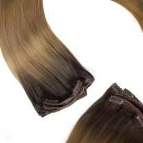 20″-22″ Russian Clip in Hair 150g