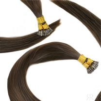 20″-22″ Double Drawn Luxury Tiny Tips (tiny I tips) 25 Strands